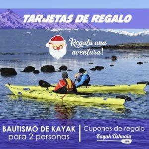 Regala una Aventura Kayak en Ushuaia