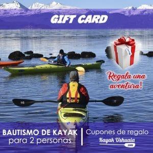 Regala una Aventura Kayak Canal Beagle