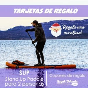 Regala-una-Aventura-SUP-Stand-Up-Paddle-KayakUshuaia-gift-card