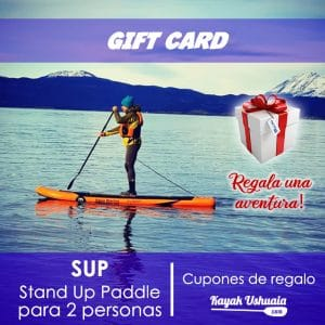 Regala-una-Aventura-SUP-Stand-Up-Paddle-KayakUshuaia-gift-card-canal-beagle