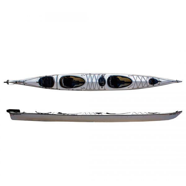 Kayak Doble de travesía modelo Expedition 2 CM marca M&G en KayakUshuaia
