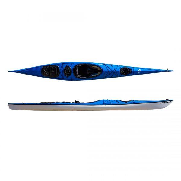 Kayak de travesía modelo Pacífico marca M&G en KayakUshuaia