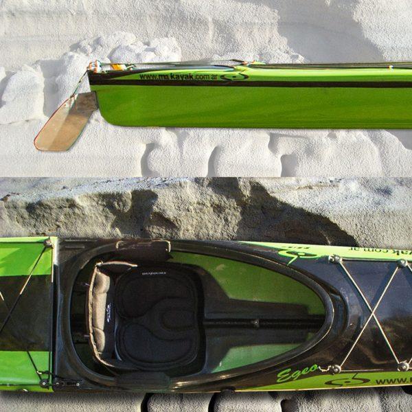 Kayak de travesía modelo Egeo marca M&G en KayakUshuaia