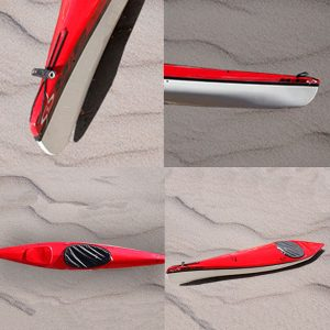 Kayak de competición modelo Lacar TEAM marca M&G en KayakUshuaia