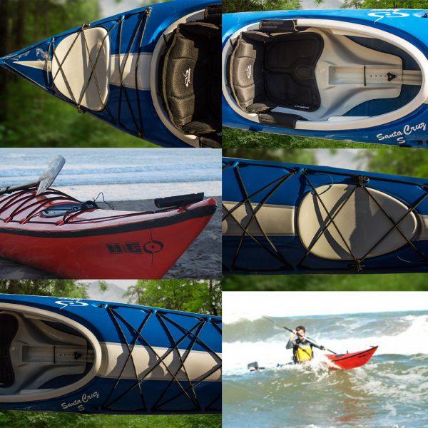 Kayak de travesía modelo Santa Cruz de M&G en KayakUshuaia