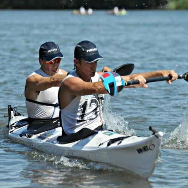 Kayak Doble de competición modelo Expedition 2 RACE marca M&G en KayakUshuaia